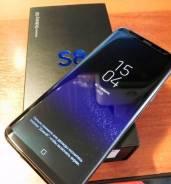 Samsung Galaxy S8. Б/у, 64 Гб, Черный, 3G, 4G LTE, Dual-SIM, Защищенный