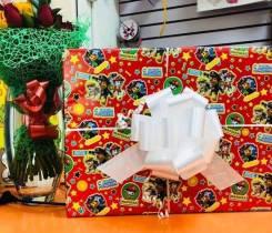 Упаковка подарков дет. м-н Жирафик