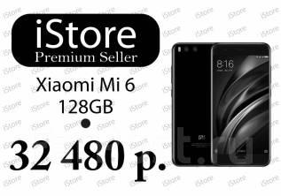 Xiaomi Mi6. Новый, 128 Гб, Черный