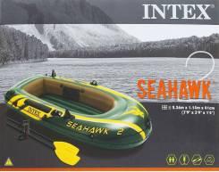 Intex Seahawk. длина 2,36м., двигатель без двигателя