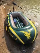 Intex Seahawk. длина 2,40м., 1,00л.с., бензин