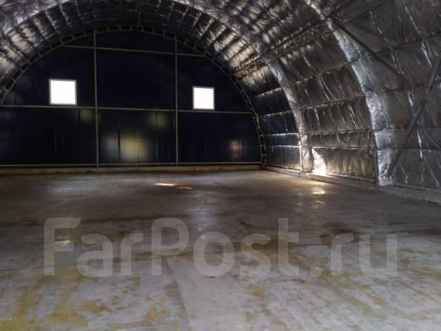 Сдам в аренду новый охраняемый ангар 290 кв. м. 290кв.м., улица Карьерная 12, р-н Снеговая