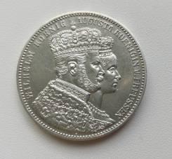 Пруссия (Германия) 1 талер 1861г Ag900