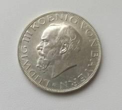 Бавария (Германия) 3 марки 1914г Ag900