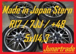 Комплект японских дисков - Stern R17/7JJ/+48/5x114,3 б/п по РФ