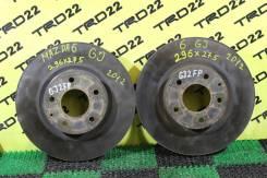Диск тормозной. Mazda Atenza, GJ2AP, GJ2AW, GJ2FP, GJ2FW, GJ5FP, GJ5FW, GJEFP, GJEFW Mazda Mazda6, GJ, GJ521, GJ522, GJ523, GJ526, GJ527 Двигатели: PE...