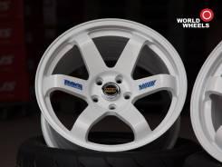 """RAYS Volk Racing TE37. 9.0x18"""", 5x100.00, ET30, ЦО 73,1мм."""