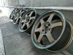 "Легендарные диски Rays Volk racing TE37 16 X 7J 5/100 +33. 7.0x16"" 5x100.00 ET33 ЦО 56,1мм."