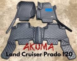 Коврики. Toyota Land Cruiser Prado, GRJ120, GRJ120W, GRJ121W, GRJ125W, KDJ120, KDJ120W, KDJ121W, KDJ125W, KZJ120, LJ120, RZJ120, RZJ120W, RZJ125W, TRJ...