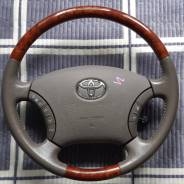 Руль. Toyota: Avalon, Land Cruiser, Aristo, Celsior, Camry Gracia, Avensis, Camry, Land Cruiser Prado, Brevis, Avensis Verso, Alphard, Chaser, Corolla...