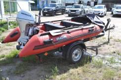 Yachtmarin. 2015 год год, длина 3,40м., двигатель подвесной, 15,00л.с., бензин