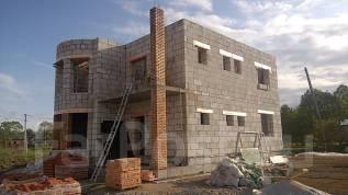 Строительство фундаментов, домов, подпорные стены, отмостки.
