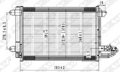 Радиатор кондиционера AUDI A3 03-//SEAT LEON/TOLEDO//SKODA OCTAVIA 04-/SUPERB 08-/YETI 09-//VW EOS 0 SAT ST-VW26-394-0