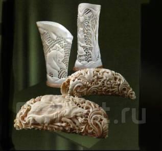 Куплю зубы Кашалота, Касатки, Бивень Моржа, Поделки сувениры из кости