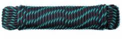 Шнур плетеный АКВА СПОРТ 6,0 мм, 30 м, евромоток