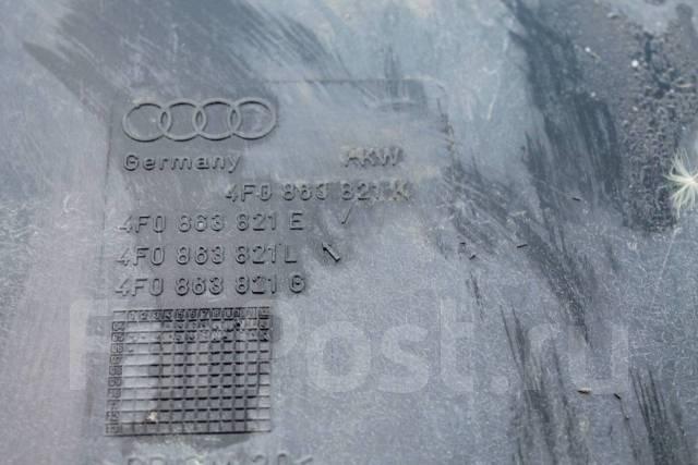 Защита бампера. Audi A6 allroad quattro, 4FH Audi S6, 4F2, 4F5 Audi Quattro Audi A6, 4F2, 4F2/C6, 4F5, 4F5/C6 Двигатели: ASB, AUK, BNG, BPP, BSG, BAT...