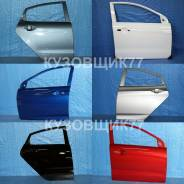 Дверь. Kia Rio, FB, QB Hyundai Solaris, RB Двигатели: G4FA, G4FC, G4LC