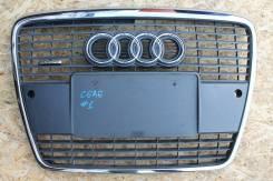 Решетка радиатора. Audi S6, 4F2 Audi Quattro Audi A6, 4F2, 4F2/C6 Двигатели: ASB, AUK, BAT, BBJ, BDW, BDX, BKH, BLB, BMK, BNA, BNG, BNK, BPJ, BPP, BRE...