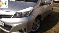 Накладка на фару. Toyota Vitz, NSP130