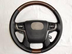 Руль. Toyota Land Cruiser, GRJ200, URJ200, URJ202, URJ202W, VDJ200, J200, UZJ200, UZJ200W Toyota Land Cruiser Prado, GDJ150, GDJ150L, GDJ150W, GDJ151...