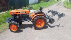 Kubota B6000. Мини-трактор Kuboto B6000 с окучником., 13 л.с.