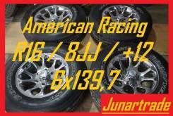 Комплект кованных дисков American Racing R16/8JJ/+12/6x139,7 б/п по РФ