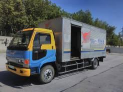 Hino Ranger. Грузовик , 1993 г. в. Фургон 25 м3, 6 000куб. см., 5 000кг.