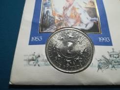 Великобритания 5 фунтов 1993 г.