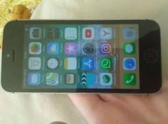 Apple iPhone 5s. Б/у, 16 Гб, Черный, 3G, 4G LTE