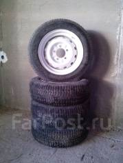 Комплект колёс с дисками 205х70х16 4 шт б/у в отличном состоянии.
