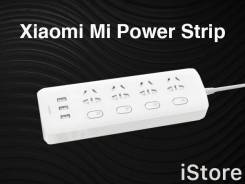 Сетевой фильтр Xiaomi Mi Power Strip на 4 розетки с Европейской вилкой
