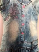 Платья джинсовые. 46