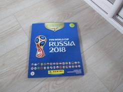 Sticker albom. Russia 2018. ЧМ по футболу 2018. Альбом для наклеек . .