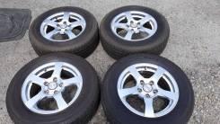 """Хороший комплект колёса 205/65R15. 6.5x15"""" 5x112.00 ET45 ЦО 65,1мм."""