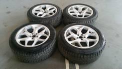 "Комплект колес на жирной резине Bridgestone Blizzak DM-V1 255/55 R20. 9.5x20"" 5x120.00 ET20 ЦО 74,0мм."