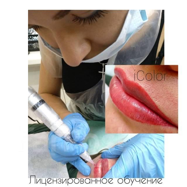 Обучение Перманентный макияж Микроблейдинг