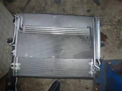 Радиатор охлаждения двигателя. Volkswagen Touareg, 7L6, 7LA Audi Q7, 4LB Двигатели: AXQ, AYH, AZZ, BAA, BAC, BAN, BAR, BHK, BHL, BJN, BKJ, BKL, BKS, B...