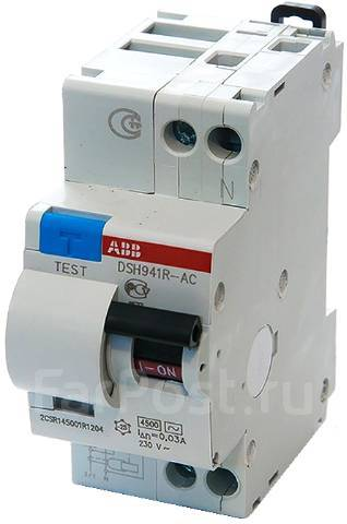 Авт.диф.тока DSH941R C20 30мА тип АС ABB 2CSR145001R1204