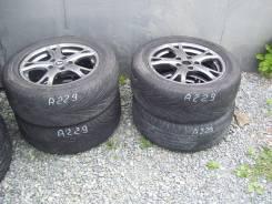 Комплект литья R-16 5x114 с шинами 215/60. 5x114.30 ET45 ЦО 70,0мм.