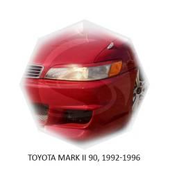 Накладка на фару. Toyota Mark II, GX110, GX115, GX90, JZX110, JZX115, JZX90, JZX90E, LX90, LX90Y, SX90 Двигатели: 1GFE, 1JZFSE, 1JZGE, 1JZGTE. Под зак...