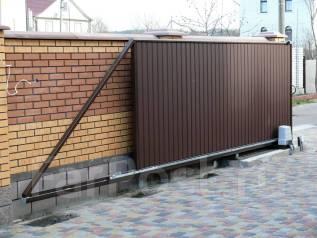 Откатные, секционные, распашные ворота