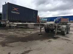 Van Hool. Продам полуприцеп контейнеровоз 20 фут. 3B0037, 36 000кг.