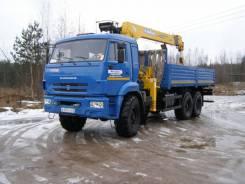 КамАЗ 43118-46. Продается бортовой КамАЗ 43118-3027-46 с КМУ Soosan SCS736L2 верх. упр, 12 730кг.