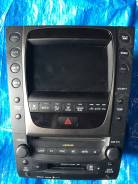 Магнитола. Lexus GS460, GRS191, GRS196, UZS190, URS190 Lexus GS350, GRS191, GRS196, UZS190 Lexus GS430, GRS191, GRS196, UZS190 Lexus GS300, GRS190, GR...