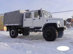 ГАЗ-33081 Егерь 2. Автомобиль ГАЗ Егерь с двухрядной кабиной 5 мест, 4 469куб. см., 2 000кг., 4x4