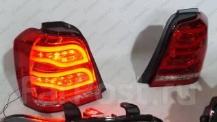 Защита стоп-сигнала. Toyota Highlander Toyota Kluger V, ACU20W, ACU25W, MCU20W, MCU25W, MHU28W