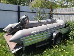 Посейдон Беркут BR-370. длина 370,00м., двигатель подвесной, 30,00л.с., бензин