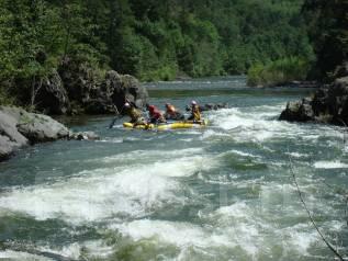 Сплав по реке Кема и Амгинский водопад (6 дней)