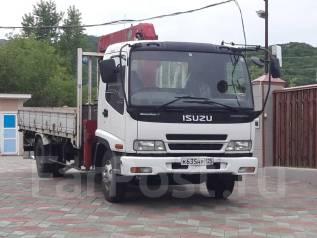Isuzu Forward. Isuzu forward 06г кран, 5 190куб. см., 5 000кг.