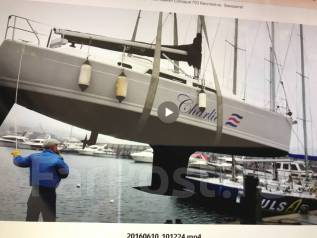 Продаётся парусная яхта. Длина 9,80м., 2014 год год
